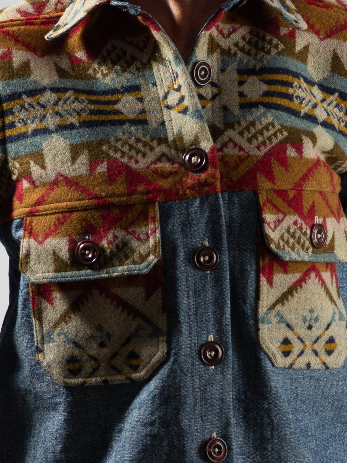 Florence Shirt Jacket in Journey