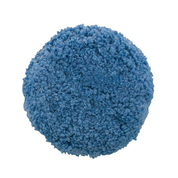 9'' x 1.5'' Presta Blue Blended Wool Soft Polish Pad