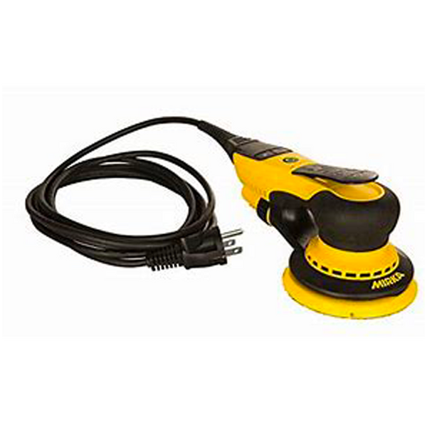 "5"" Vaccum-Ready Electric Sander (5mm Orbit) with case"