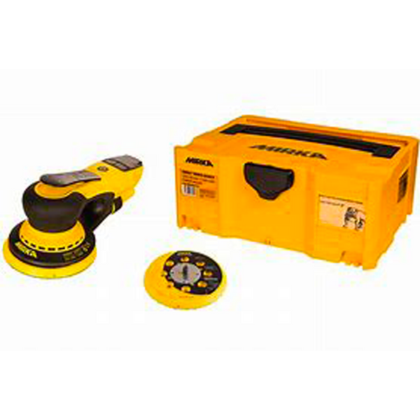 "6"" Vacuum-Ready Electric Sander (5mm Orbit) with case"