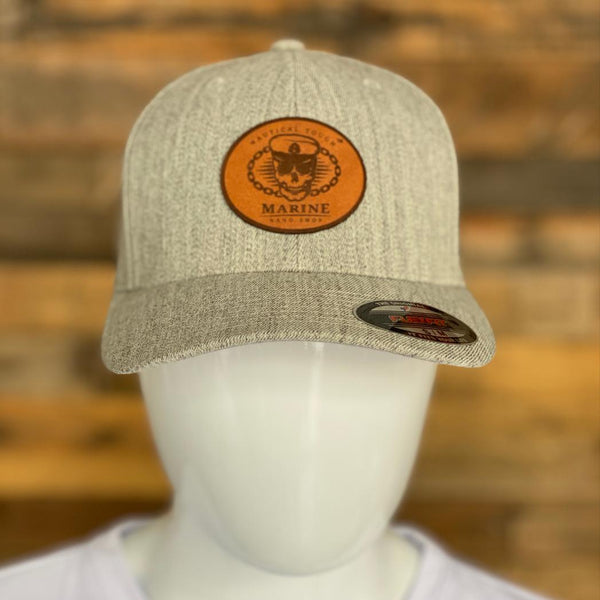 Marine Nano Shop Flexfit Heather Grey Hat