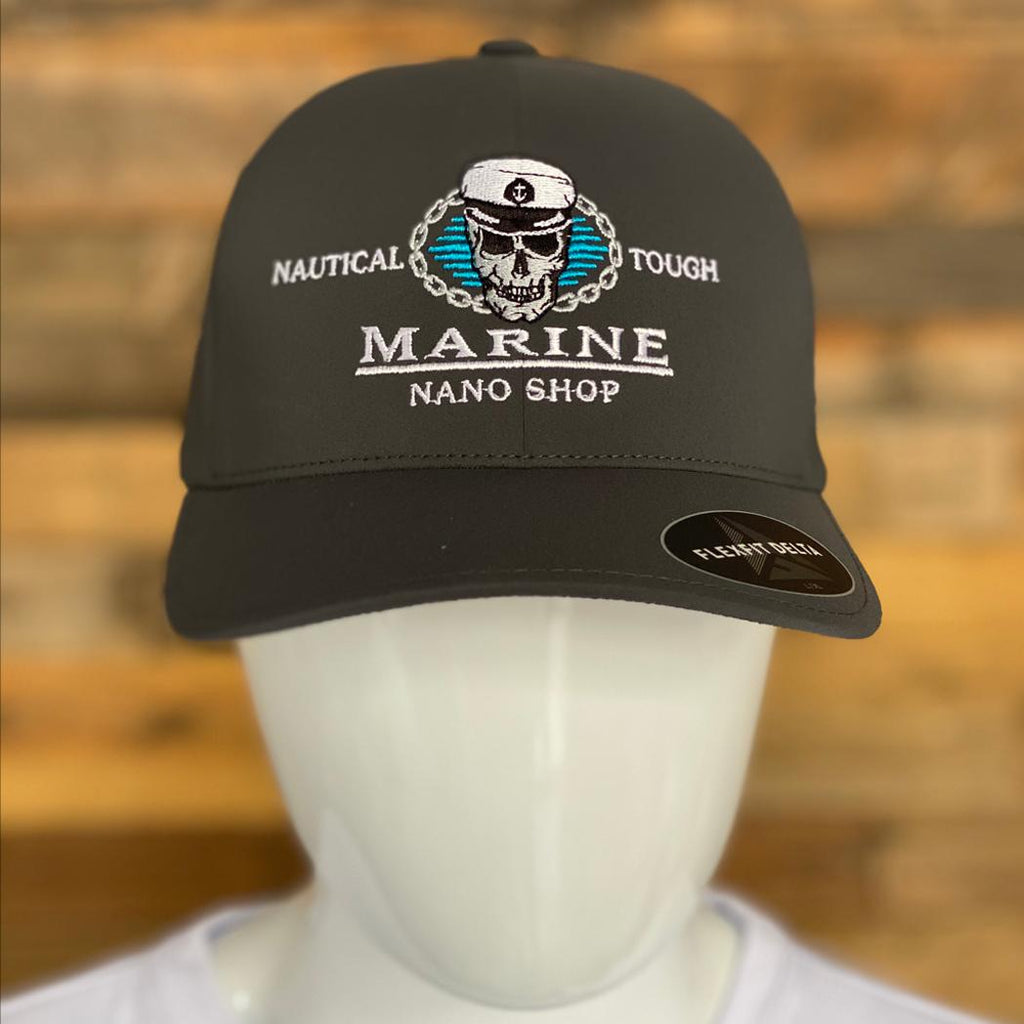 Marine Nano Shop Delta Flex Fit Dark Grey Hat
