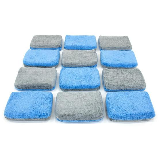 Autofiber Thin Microfiber Coating Applicator Sponge with Plastic Barrier