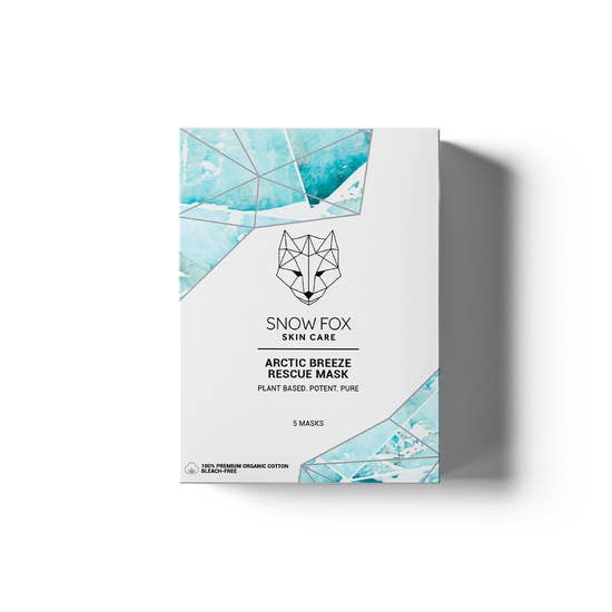 Artic Breeze Mask Set || Snow Fox