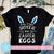 Will Trade Sister for Easter Eggs SVG, Funny Siblings SVG, Easter Toddler SVG, Cute Bunny, Bunny Ears, Funny Quote SVG