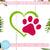 Dog Paw Free SVG, Heart Dog Free SVG, Love Dog SVG, Instant Download