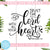 Trust The Lord With All Your Heart Free SVG, Quotes Vector, Instant Download