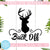 Buck Off Free SVG, Deer Free SVG, Hunting Free SVG, Instant Download