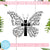 Christian Butterfly Free SVG, Butterfly Quote Free SVG, Instant Download