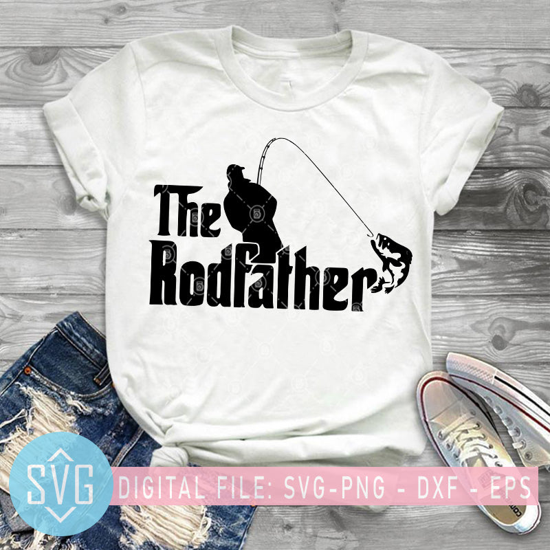 Download The Rod Father Svg Fishing Dad Svg Father S Day Svg Fishing Lover V Svg Trends Studio Trendy Svg For Crafters