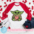 Baby Yoda Valentine SVG, Baby Yoda Vector, Happy Valentine's Day SVG