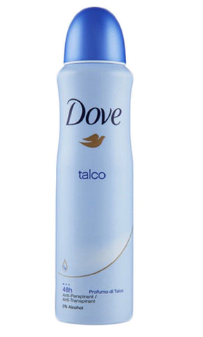 Dove Talco 150 ml Case Pack 6