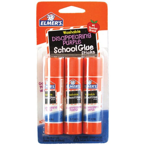 Elmer's Glue Stick 0.21 oz 3 Count Case Pack 48