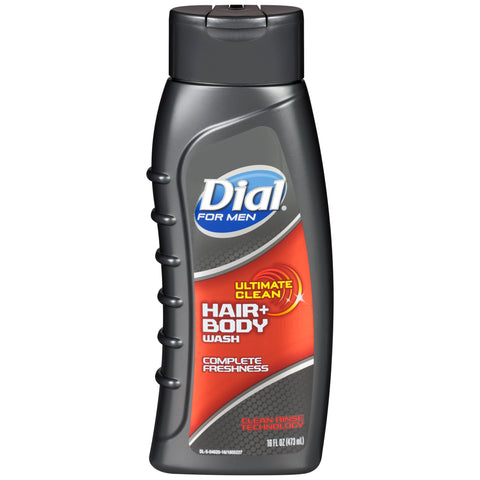 Dial  Men Hair & Body Ultimate Clean 16 oz. Case Pack 6