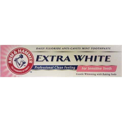 Arm & Hammer Extra White Sensitive 4.2 oz Case Pack 12