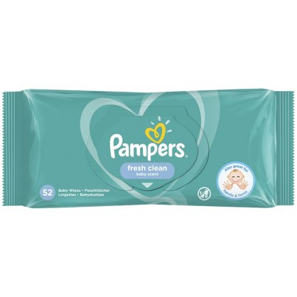 Pampers Baby Wipes 52 Count