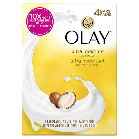 Olay Shea Butter 4 Count Case Pack 12