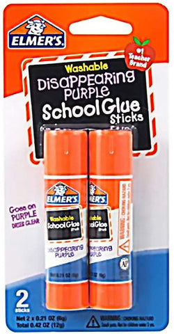 Elmer's Glue Stick 0.21 oz 2 Count Case Pack 48