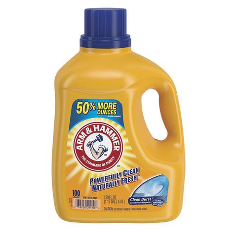 Arm & Hammer  Clean Burst, 150 oz. Case Pack 4