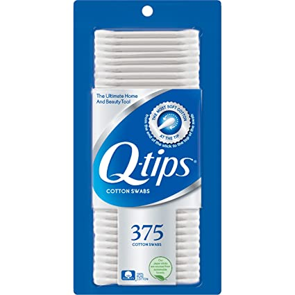 Q-Tips 375 Count Case Pack 12