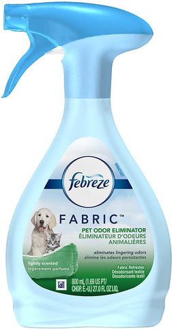 Febreze Fabric Pet 27 oz Case Pack 4