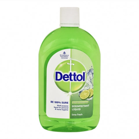 Dettol 500ml Lime Fresh Case Pack 24