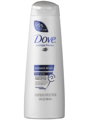 Dove Intensive Shampoo 250 ml Case Pack 6