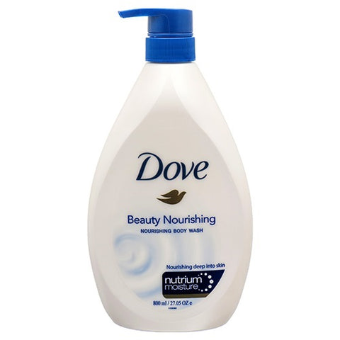Dove Beauty Body Wash 800 ml Case Pack 12