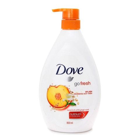 Dove Splash Body Wash 800 ml Case Pack 12