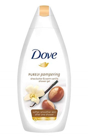 Dove Shea Butter Body Wash 500 ml Case Pack 12