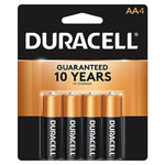 Duracell AA 4 Count Case Pack 56
