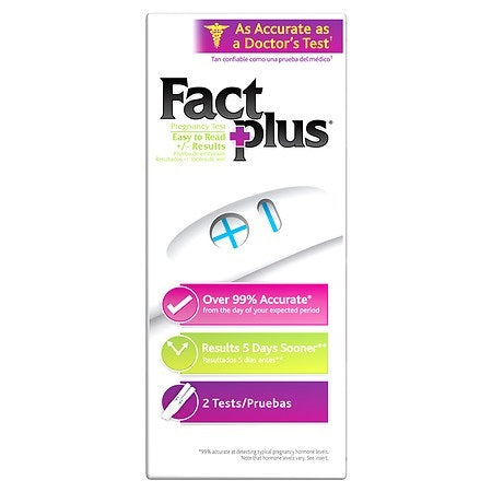 Clearblue Fact Plus 2 Count Case Pack 12