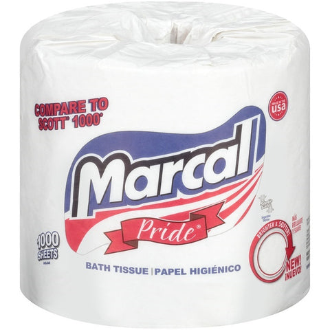 Marcal Bath Tissue 1000 Sheets / Case Pack 80 Rolls