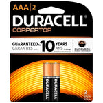 Duracell Batteries AAA 2 Count