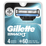 Gillette Mach3 4 Count Case Pack 10