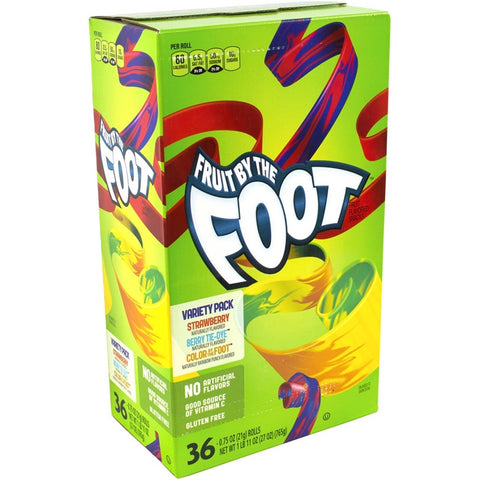 Fruit By the Foot Variety Pack 36-count Rolls