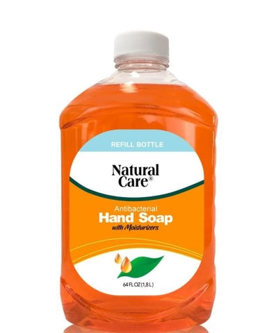 Natural Care Hand Soap 64 oz Case Pack 4