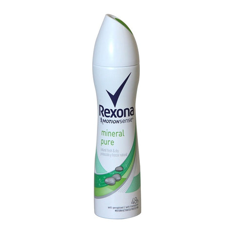 Rexona Women's Spray Mineral Pure 200 ml Case Pack 6