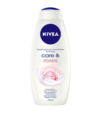 Nivea Body Wash Roses 25.3 oz.  Case Pack 12