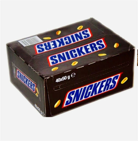 Snickers 50G Chocolate Bar 40 Count