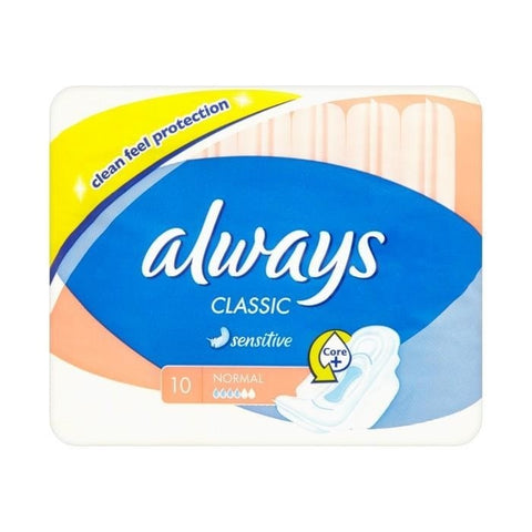 Always Sensitive 10 Count Case Pack 16