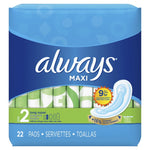 Always Maxi 22 Count Case Pack 12