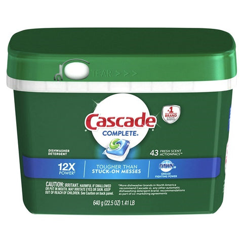 Cascade 43 Count Case Pack 6