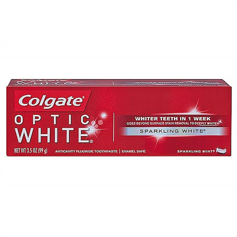 Colgate Optic Sparkling 3.5 oz Case Pack 48
