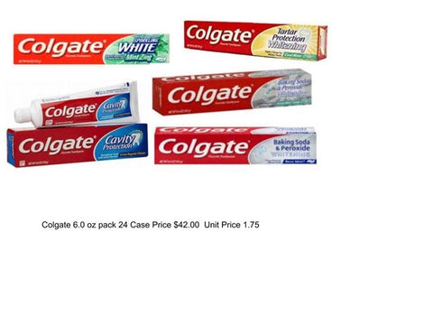 Colgate 5.1 oz Assorted