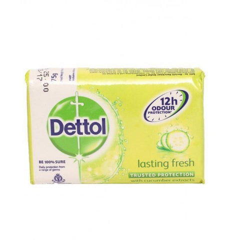 Dettol Lasting Fresh 100g 6 Count Case Pack 24