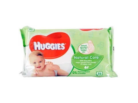 Huggies Baby Wipes Natural 56 Count Case Pack 10