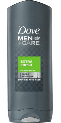 Dove Men Body Wash Extra Fresh 400ML Case Pack 12