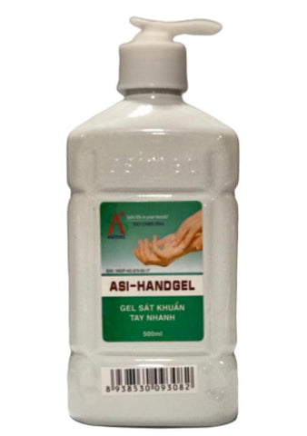 ASI Hand Sanitizer Gel 500ML Case Pack 20