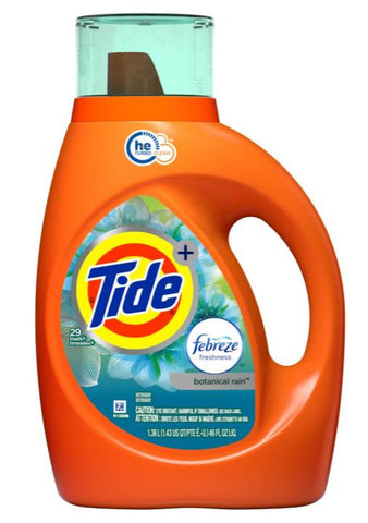 Tide 46 oz Botanical Rain Case Pack 6